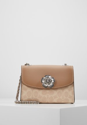 SIGNATURE PARKER SHOULDER BAG - Skulderveske - chalk