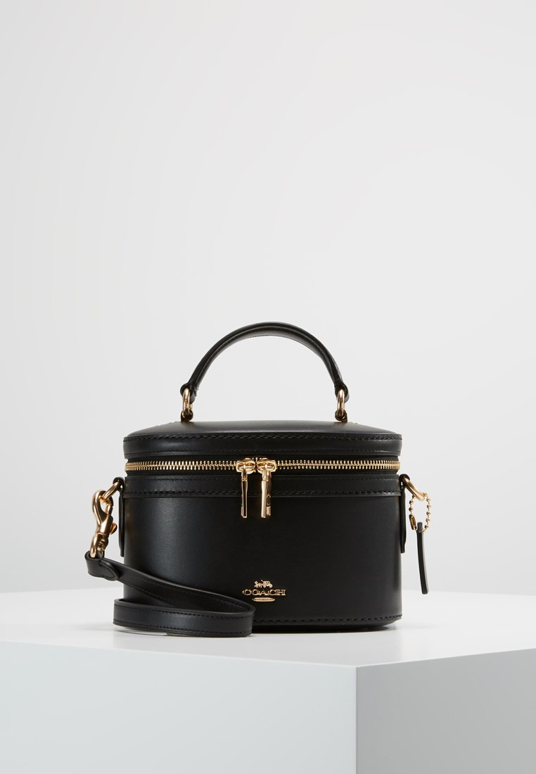 Coach - REFINED TRAIL CROSSBODY - Schoudertas - black