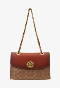 Coach - COLORBLOCK SIGNATURE PARKER SHOULDER - Borsa a mano - rust - 6