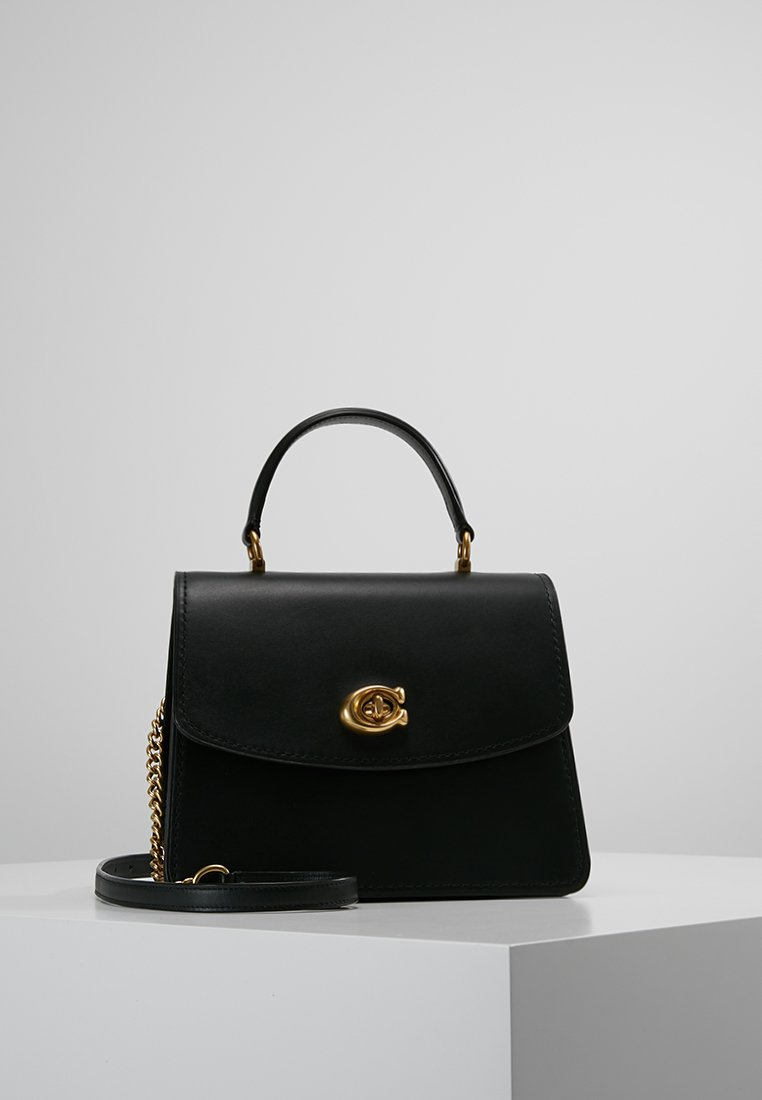 Coach - PARKER TOP HANDLE - Handtasche - black