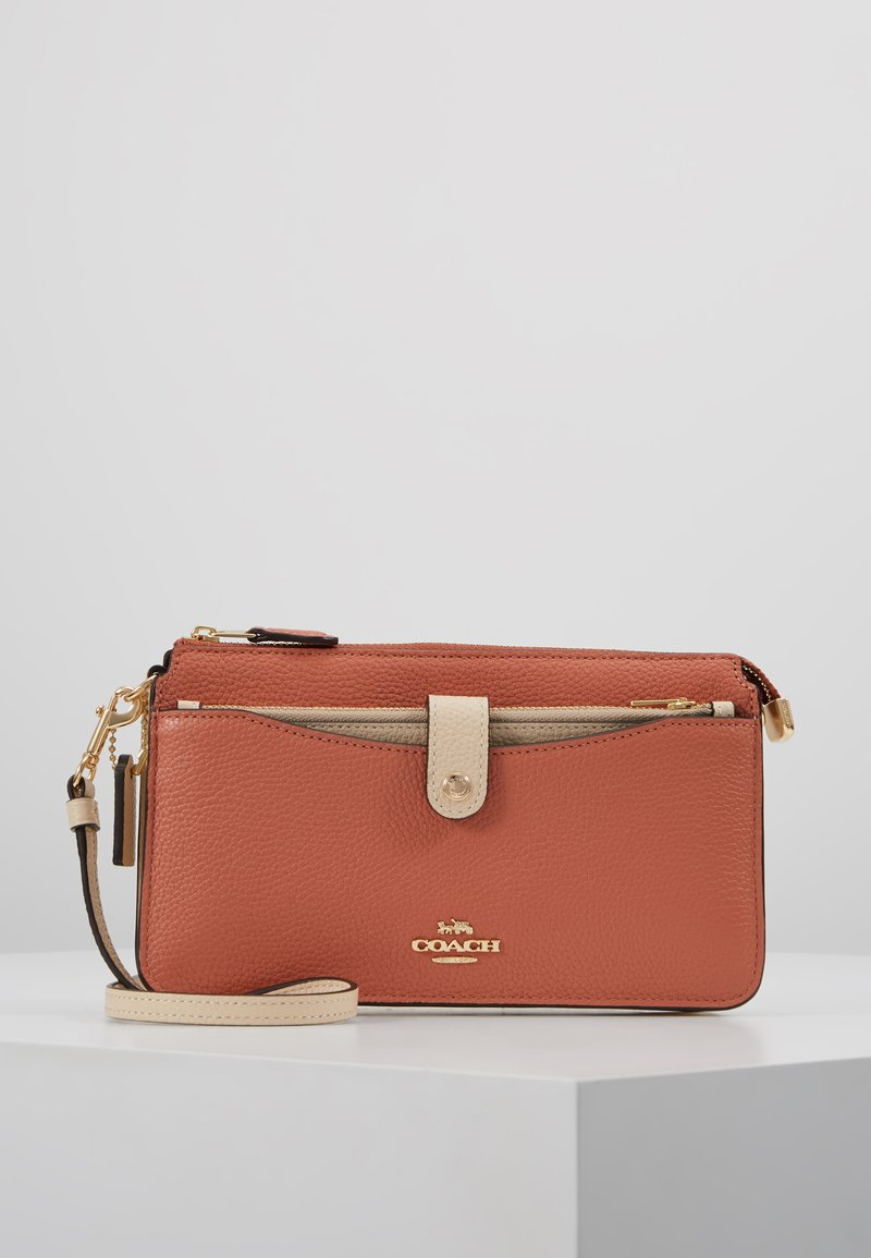 Coach - POP UP MESSENGER - Umhängetasche - light peach/multi