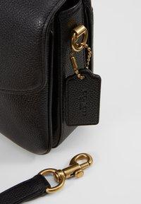 Coach - POLISHED PEBBLED BLAISE CROSSBODY - Handbag - black - 6