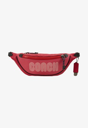 BELT BAG - Ledvinka - bright cherry/multi