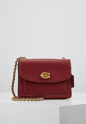 REFINED PARKER SHOULDER BAG - Torba na ramię - deep red