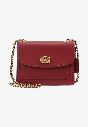 REFINED PARKER SHOULDER BAG - Skulderveske - deep red