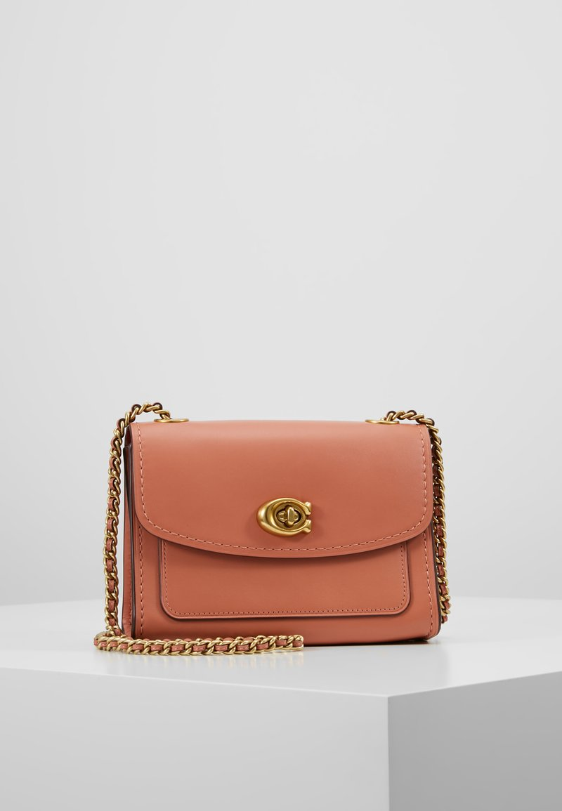 Coach - REFINED PARKER SHOULDER BAG - Across body bag - light peach