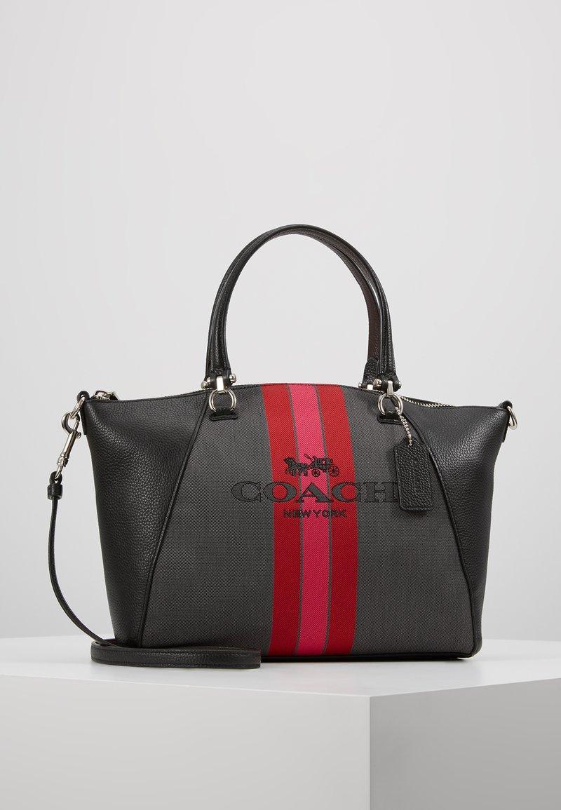 Coach - PRARIE - Håndtasker - charcoal black