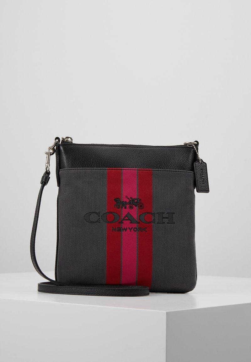 Coach - KITT - Sac bandoulière - charcoal black