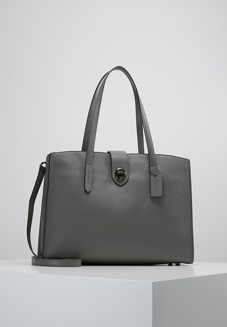 Coach - TURNLOCK CHARLIE - Sac ordinateur - heather grey