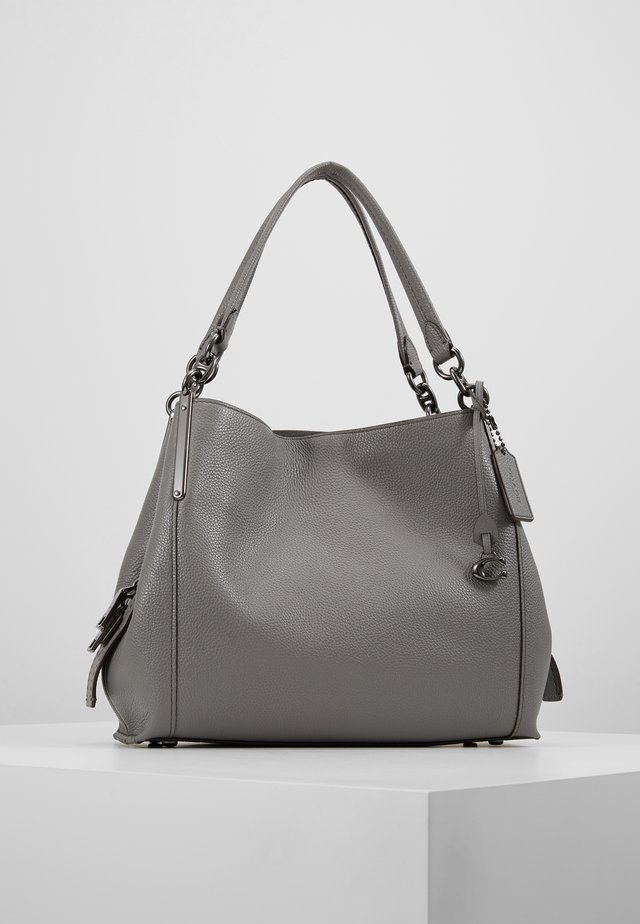 DALTON SHOULDER BAG - Handväska - heather grey