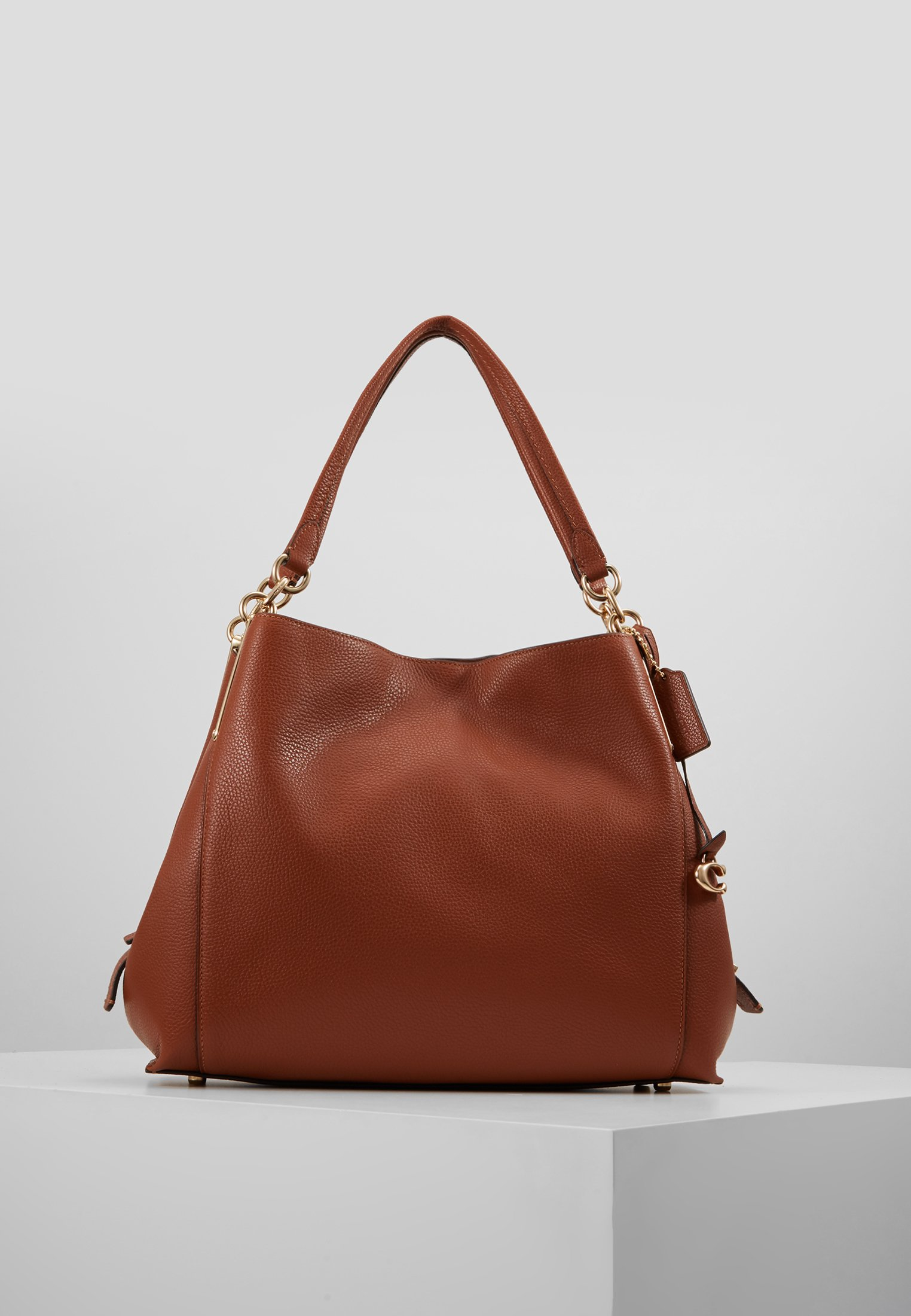 Coach POLISHED ELISE SATCHEL Håndveske pine green