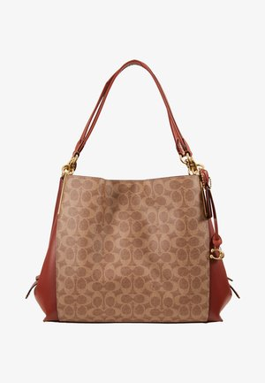 SIGNATURE DALTON  - Handbag - tan rust