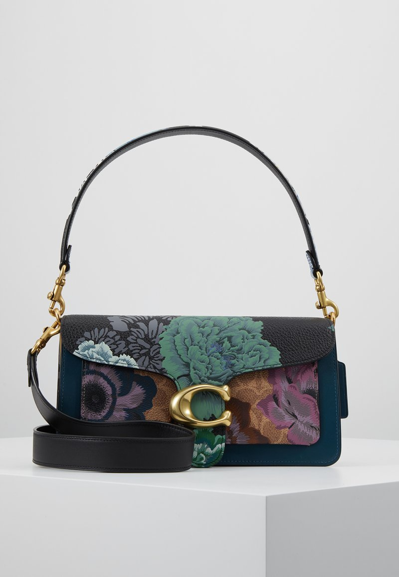 Coach - KAFFE FASSETT SIGNATURE TABBY SHOULDER BAG - Torebka - tan multi