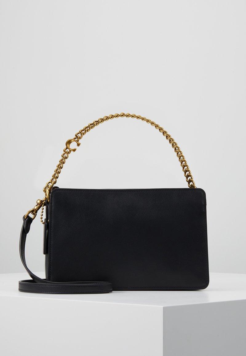 Coach - SIGNATURE CHAIN CROSSBODY - Handbag - black