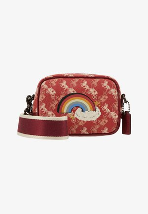 HORSE AND CARRIAGE RAINBOW SMALL CAMERA BAG - Umhängetasche - red deep