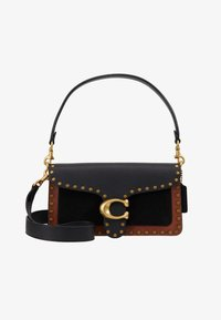 Coach - MIXED WITH BORDER RIVETS TABBY SHOULDER BAG - Kabelka - black multi - 6