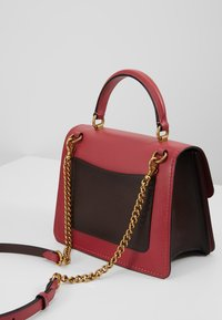 Coach - COATED SIGNATURE PARKER TOP HANDLE - Borsa a mano - tan/dusty pink - 6