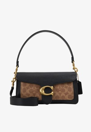 SIGNATURE TABBY SHOULDER BAG  - Handtasche - tan/black