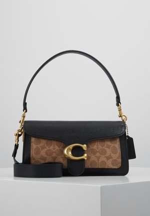 SIGNATURE TABBY SHOULDER BAG  - Kabelka - tan/black