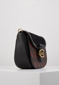Coach - HORSE AND CARRIAGE SADDLE BAG - Across body bag - black - 3