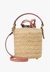 Coach - DRAWSTRING BUCKET BAG - Handtas - light peach - 1