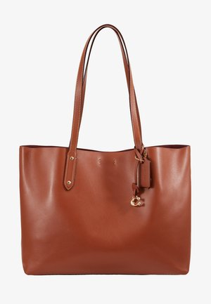 REFINED CENTRAL TOTE - Handbag - saddle