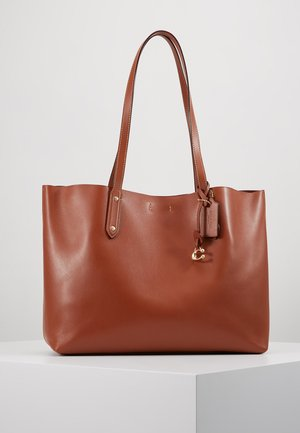 REFINED CENTRAL TOTE - Bolso de mano - saddle