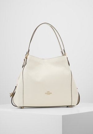 POLISHED PEBBLE EDIE SHOULDER BAG - Håndveske - off-white