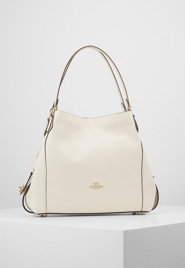 POLISHED PEBBLE EDIE SHOULDER BAG - Handtasche - off-white