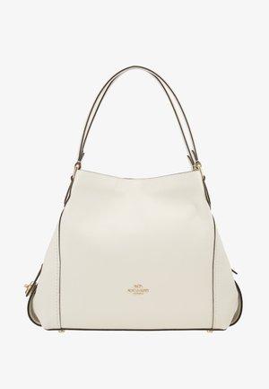 POLISHED PEBBLE EDIE SHOULDER BAG - Handbag - off-white