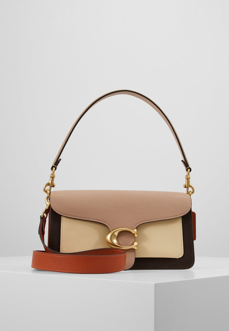 Coach - TABBY SHOULDERBAG - Borsa a tracolla - taupe ginger/ginger multi one