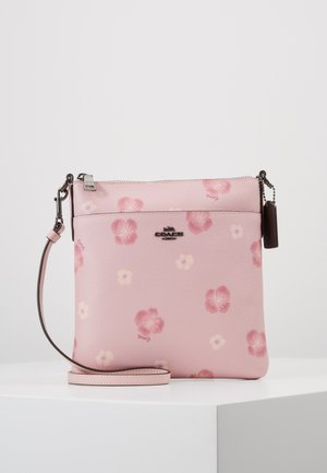 PANSY PRINT KITT - Across body bag - aurora