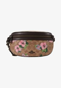 Coach - SIGNATURE BLOSSOM PRINT BELT BAG - Ledvinka - tan/sand - 1