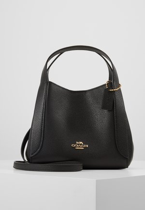 POLISHED PEBBLE HADLEY HOBO - Handbag - black
