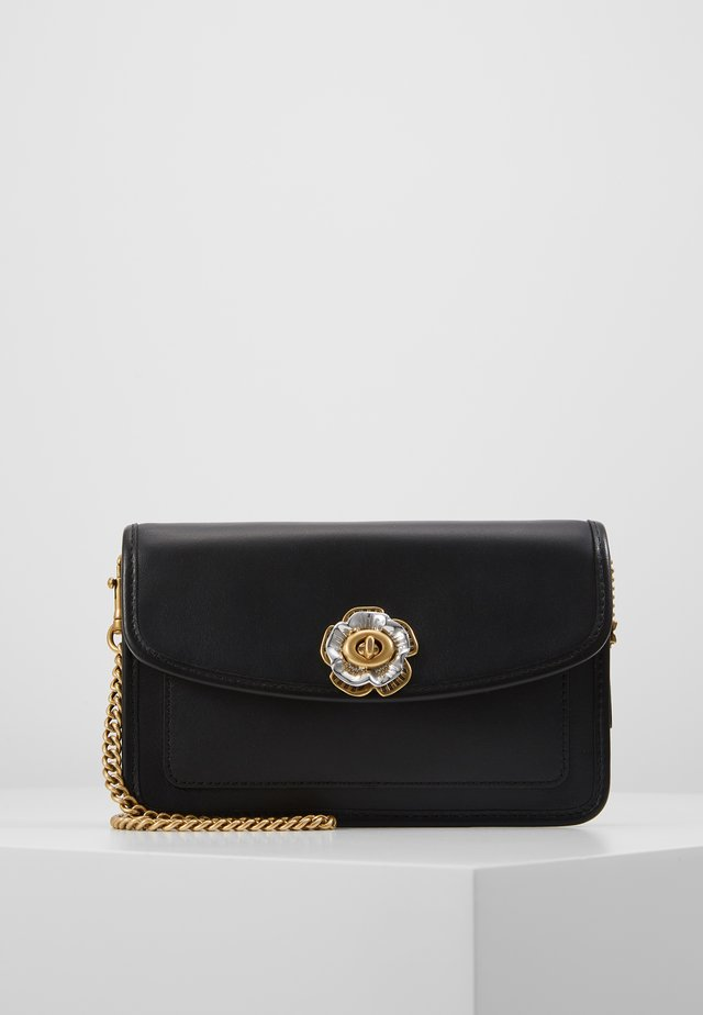 PARKER CROSSBODY MINI - Axelremsväska - black