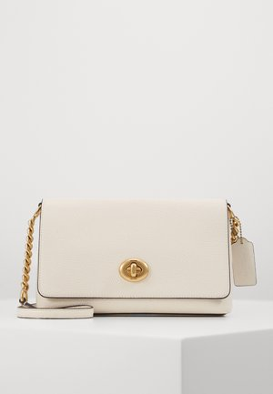 POLISHED PEBBLE CROSSTOWN CROSSBODY - Olkalaukku - chalk