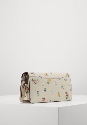WILDFLOWER PRINT TABBY SHOULDER BAG - Bolso de mano - chalk