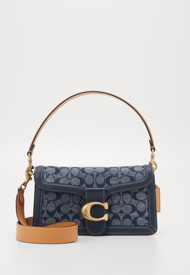 SIGNATURE TABBY SHOULDER BAG - Handbag - midnight navy