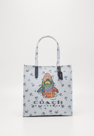 PRIDE SHARKY - Tote bag - grey