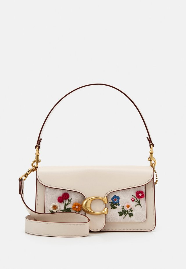 SIGNATURE FLORAL EMBROIDERY TABBY - Handbag - chalk