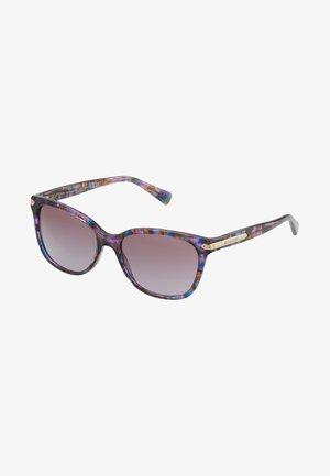 Okulary przeciwsłoneczne - confetti purple