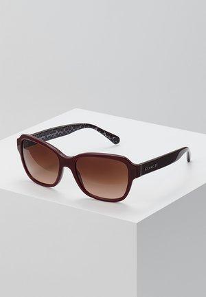 Solglasögon - oxblood