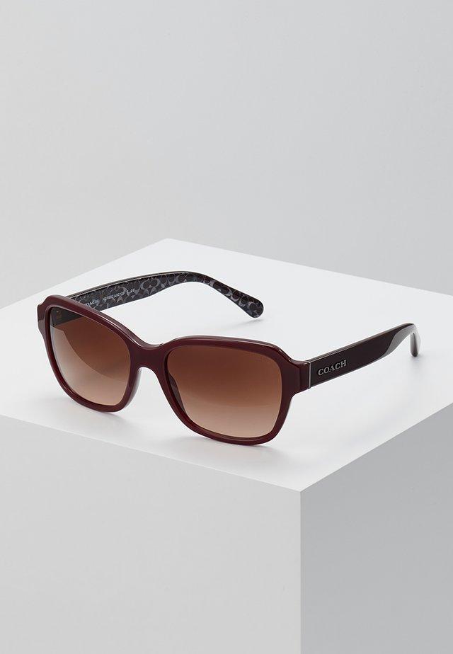 Solbriller - oxblood