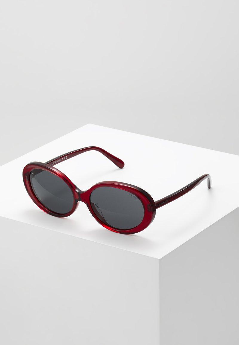 Coach - Sonnenbrille - transparent/burgundy