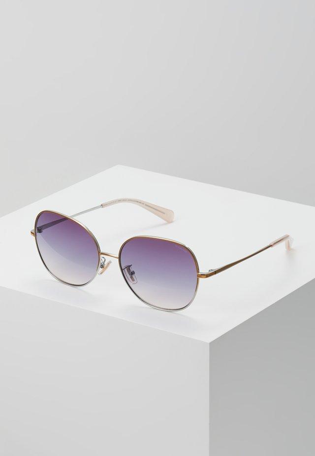 Okulary przeciwsłoneczne - shiny rose gold/shiny silver