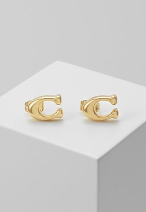 BUBBLE  STUD EARRING - Kolczyki - gold-coloured