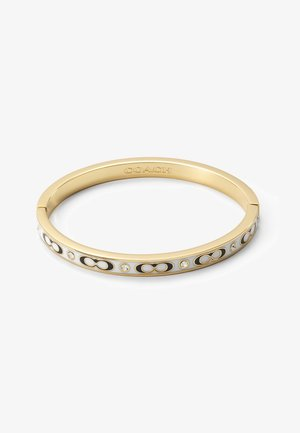 HINGED BANGLE - Rannekoru - gold-coloured/chalk