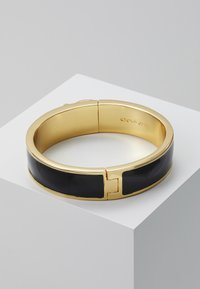 Coach - LARGE HINGED BANGLE - Bransoletka - gold-coloured/black - 2