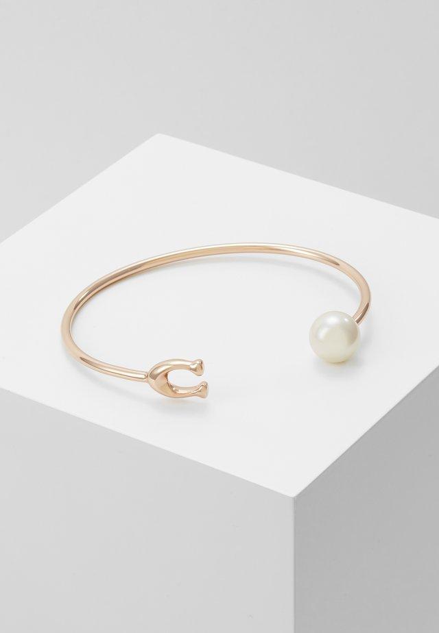 SCULPTED BANGLE - Bracelet - rose gold-coloured