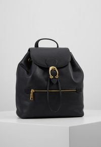 Coach - POLISHED EVIE BACKPACK - Reppu - black - 0